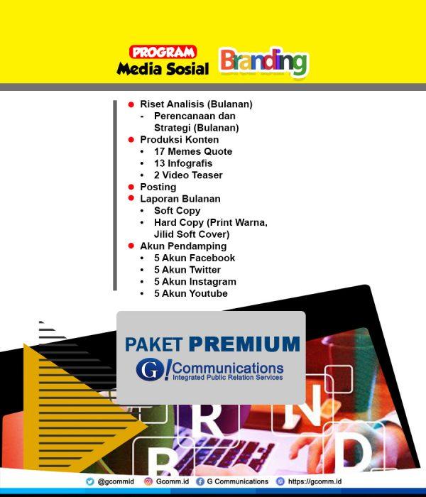 Sosmed Branding - Premium