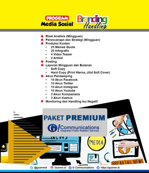Sosmed Handling - Premium